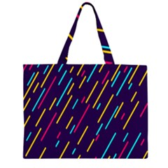 Background Lines Forms Large Tote Bag