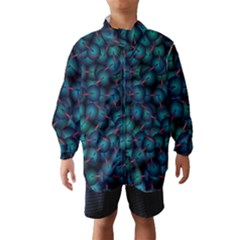 Background Abstract Textile Design Wind Breaker (Kids)