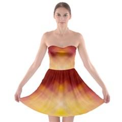 Background Textures Pattern Design Strapless Bra Top Dress