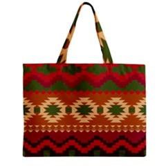 Background Plot Fashion Zipper Mini Tote Bag