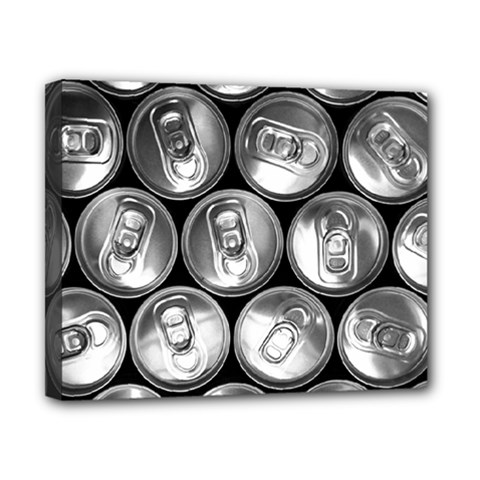 Black And White Doses Cans Fuzzy Drinks Canvas 10  x 8