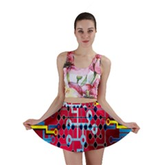 Board Circuits Trace Control Center Mini Skirt