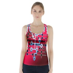 Board Circuits Trace Control Center Racer Back Sports Top