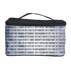 Binary Computer Technology Code Cosmetic Storage Case