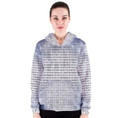 Binary Computer Technology Code Women s Zipper Hoodie