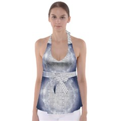 Binary Computer Technology Code Babydoll Tankini Top
