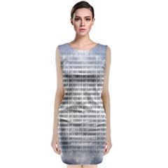 Binary Computer Technology Code Classic Sleeveless Midi Dress
