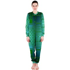 Board Conductors Circuits OnePiece Jumpsuit (Ladies)