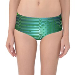 Board Conductors Circuits Mid-Waist Bikini Bottoms