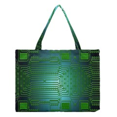 Board Conductors Circuits Medium Tote Bag