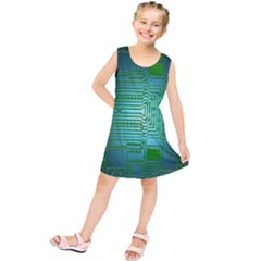 Board Conductors Circuits Kids  Tunic Dress