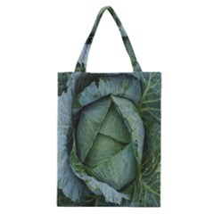 Bright Cabbage Color Dew Flora Classic Tote Bag
