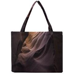 Canyon Desert Landscape Pattern Mini Tote Bag