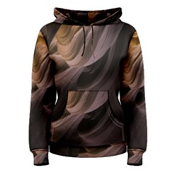 Canyon Desert Landscape Pattern Women s Pullover Hoodie