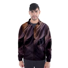 Canyon Desert Landscape Pattern Wind Breaker (men)