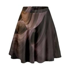 Canyon Desert Landscape Pattern High Waist Skirt
