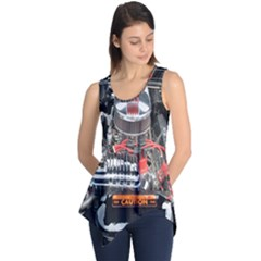 Car Engine Sleeveless Tunic