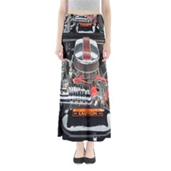 Car Engine Maxi Skirts