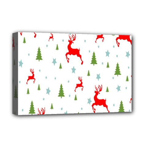 Christmas Pattern Deluxe Canvas 18  x 12