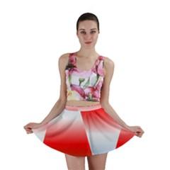 Christmas Pattern Mini Skirt