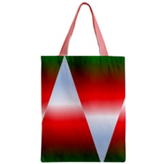 Christmas Pattern Zipper Classic Tote Bag