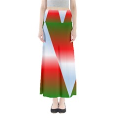 Christmas Pattern Maxi Skirts