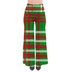 Christmas Colors Red Green White Pants