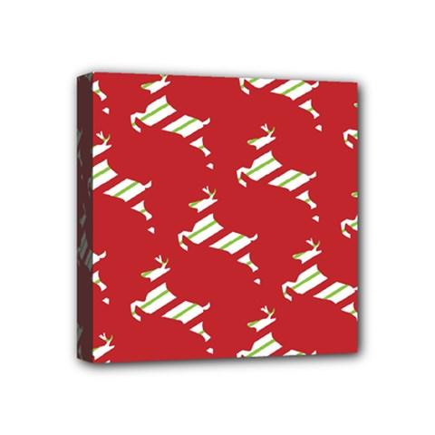 Christmas Card Christmas Card Mini Canvas 4  x 4