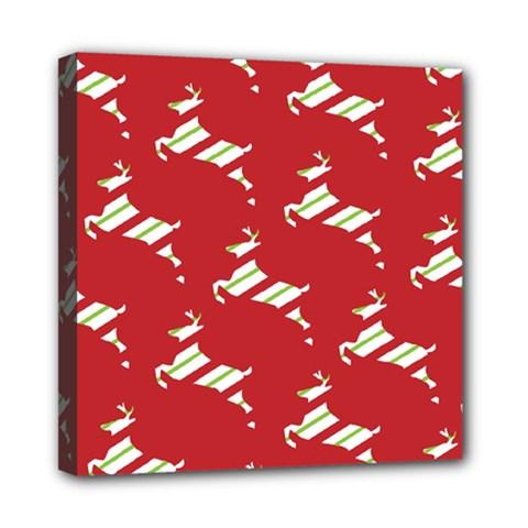 Christmas Card Christmas Card Mini Canvas 8  x 8