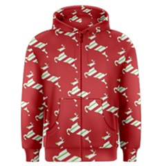Christmas Card Christmas Card Men s Zipper Hoodie
