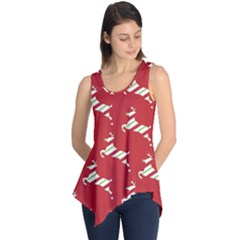 Christmas Card Christmas Card Sleeveless Tunic
