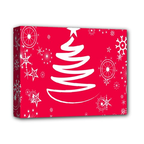 Christmas Tree Deluxe Canvas 14  x 11