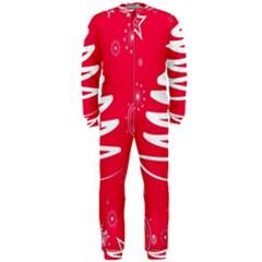 Christmas Tree OnePiece Jumpsuit (Men)