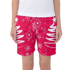Christmas Tree Women s Basketball Shorts