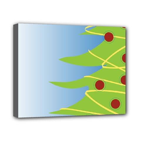 Christmas Tree Christmas Canvas 10  x 8