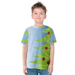 Christmas Tree Christmas Kids  Cotton Tee