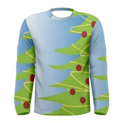 Christmas Tree Christmas Men s Long Sleeve Tee