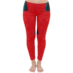 Christmas Time Fir Trees Classic Winter Leggings