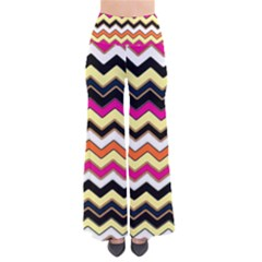 Colorful Chevron Pattern Stripes Pants