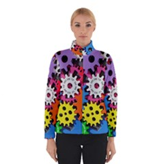 Colorful Toothed Wheels Winterwear