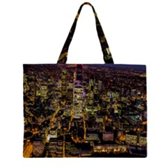 City Glass Architecture Windows Large Tote Bag