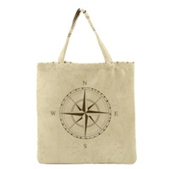 Compass Vintage South West East Grocery Tote Bag