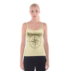 Compass Vintage South West East Spaghetti Strap Top