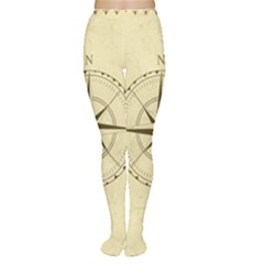 Compass Vintage South West East Women s Tights