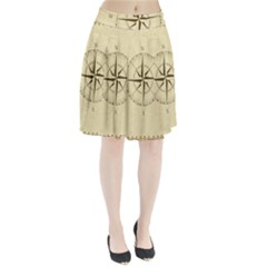 Compass Vintage South West East Pleated Skirt