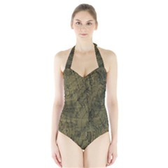 Complexity Halter Swimsuit