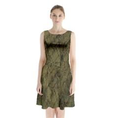 Complexity Sleeveless Chiffon Waist Tie Dress