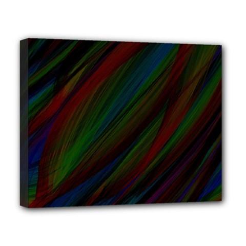 Dark Background Pattern Deluxe Canvas 20  x 16