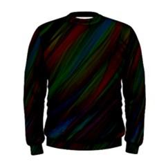 Dark Background Pattern Men s Sweatshirt