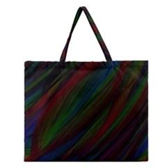 Dark Background Pattern Zipper Large Tote Bag